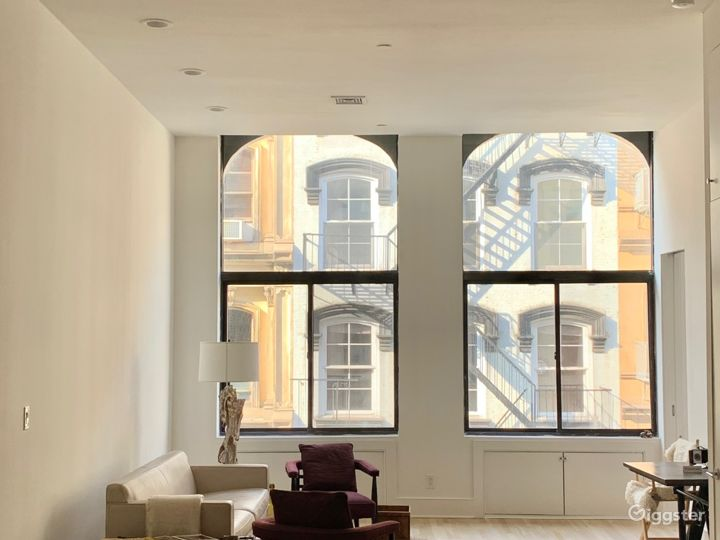 Modern Tribeca Loft with high ceilings Photo 4
