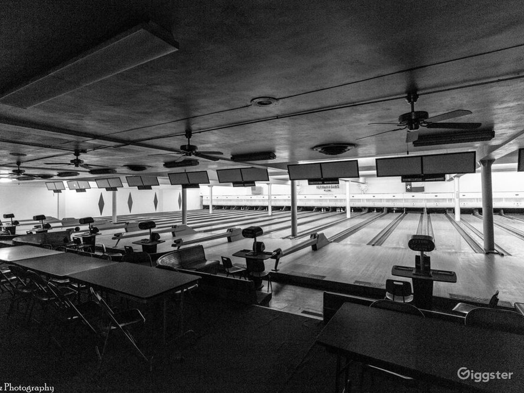 Historic 1940's Bowling Alley Photo 1