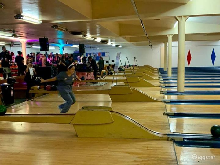 Historic 1940's Bowling Alley Photo 3