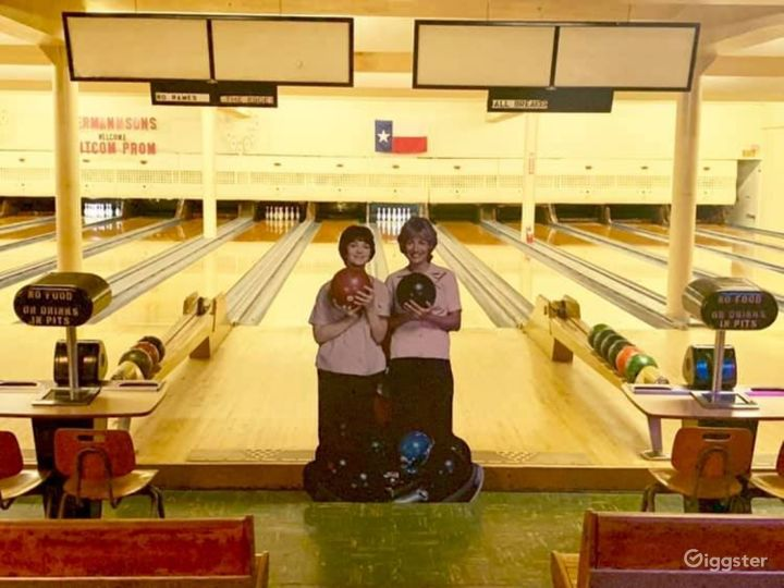 Historic 1940's Bowling Alley Photo 2