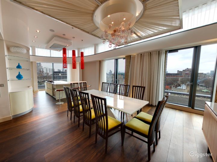 Cheval Three Quays -  Tower View Two Bedroom Penthouse in London Photo 4