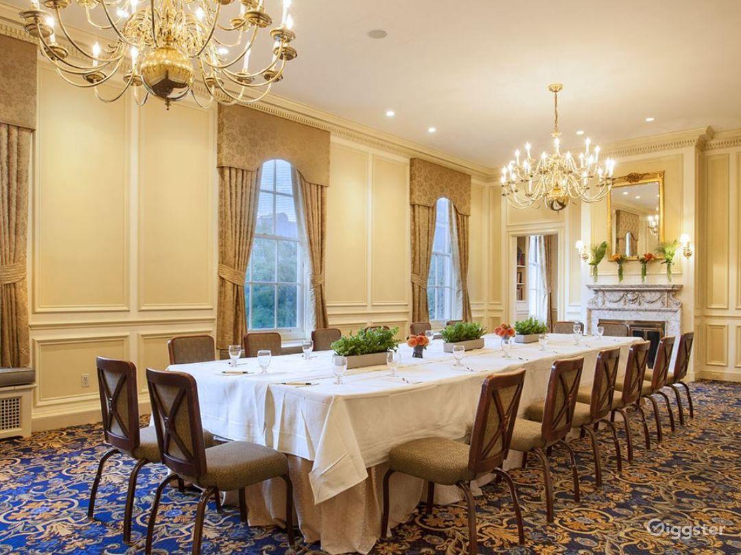 Classic Wedding Venue in Boston with Elegant Interiors Photo 1