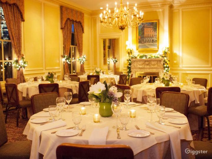 Classic Wedding Venue in Boston with Elegant Interiors Photo 2