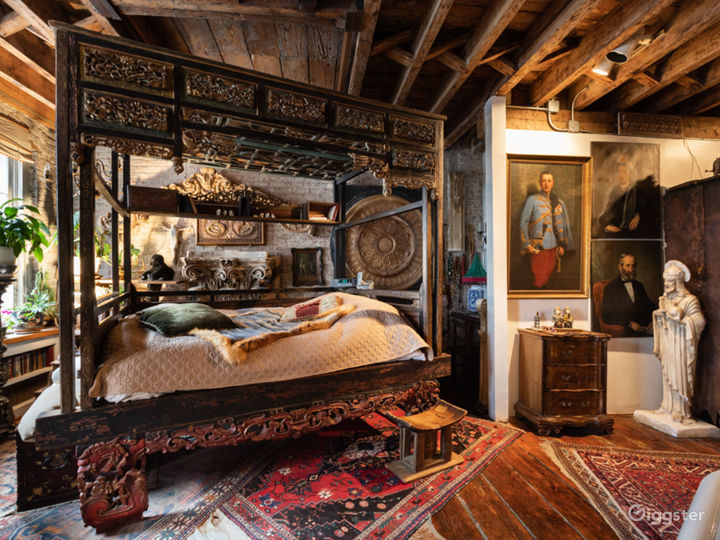 Exotic bohemian haven loft in Gramercy Photo 3