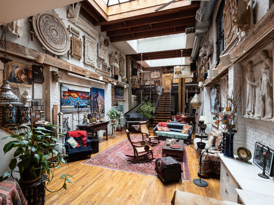 Exotic bohemian haven loft in Gramercy Photo 1