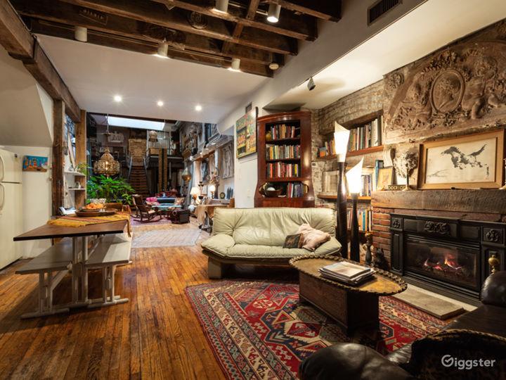 Exotic bohemian haven loft in Gramercy Photo 5