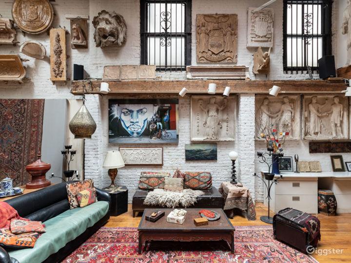 Exotic bohemian haven loft in Gramercy Photo 2