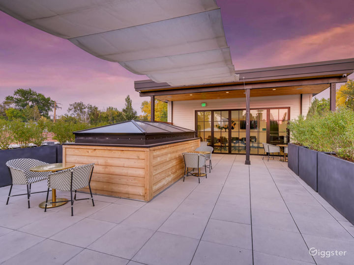 Rooftop Event Space (Outdoor/Patio Area)