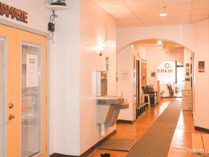 Spacious, clean, and modern facilities.