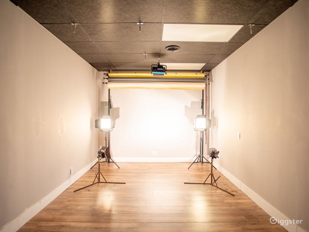 Our sound proof studio.