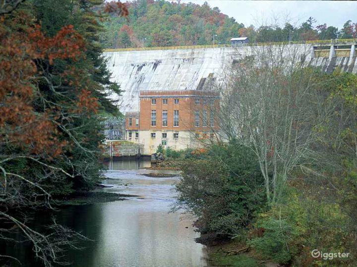 Lake Burton Dam Photo 3