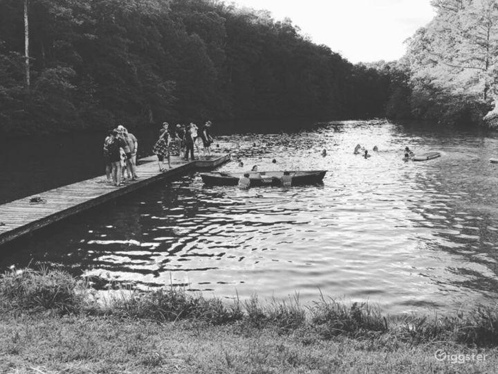 Scenic Lakeside at Hurt Lake Photo 4