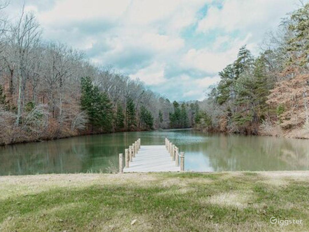 Scenic Lakeside at Hurt Lake Photo 1