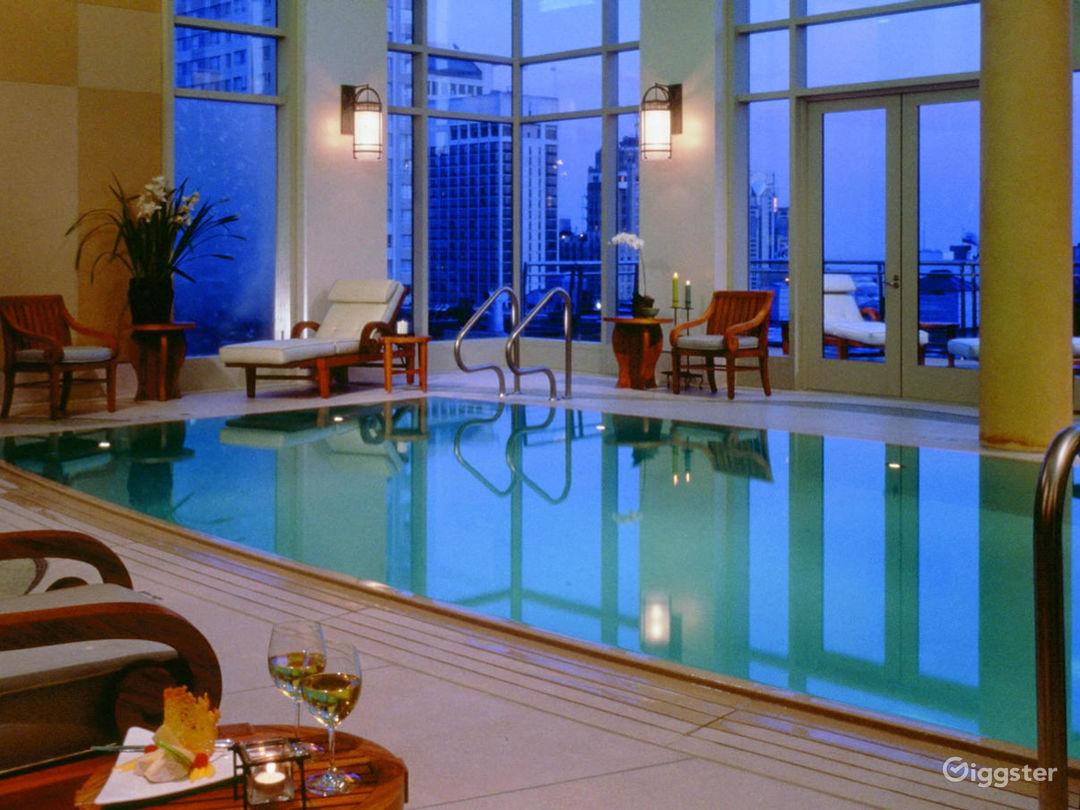 Award-Winning Indoor Spa Pool Photo 1