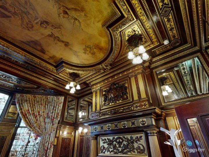 19th Century Vanderbilt Room in Cromwell Road, London Photo 2