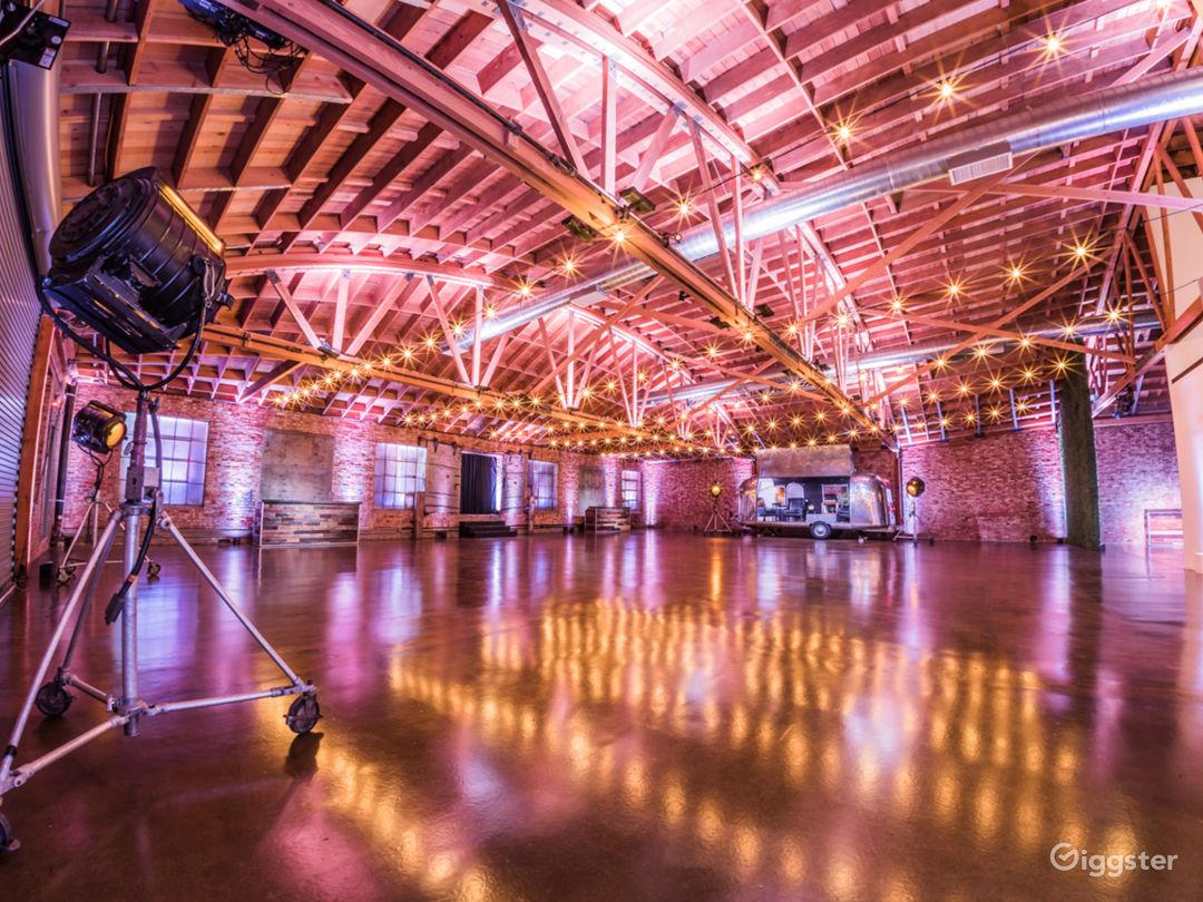 4500 square foot factory studio