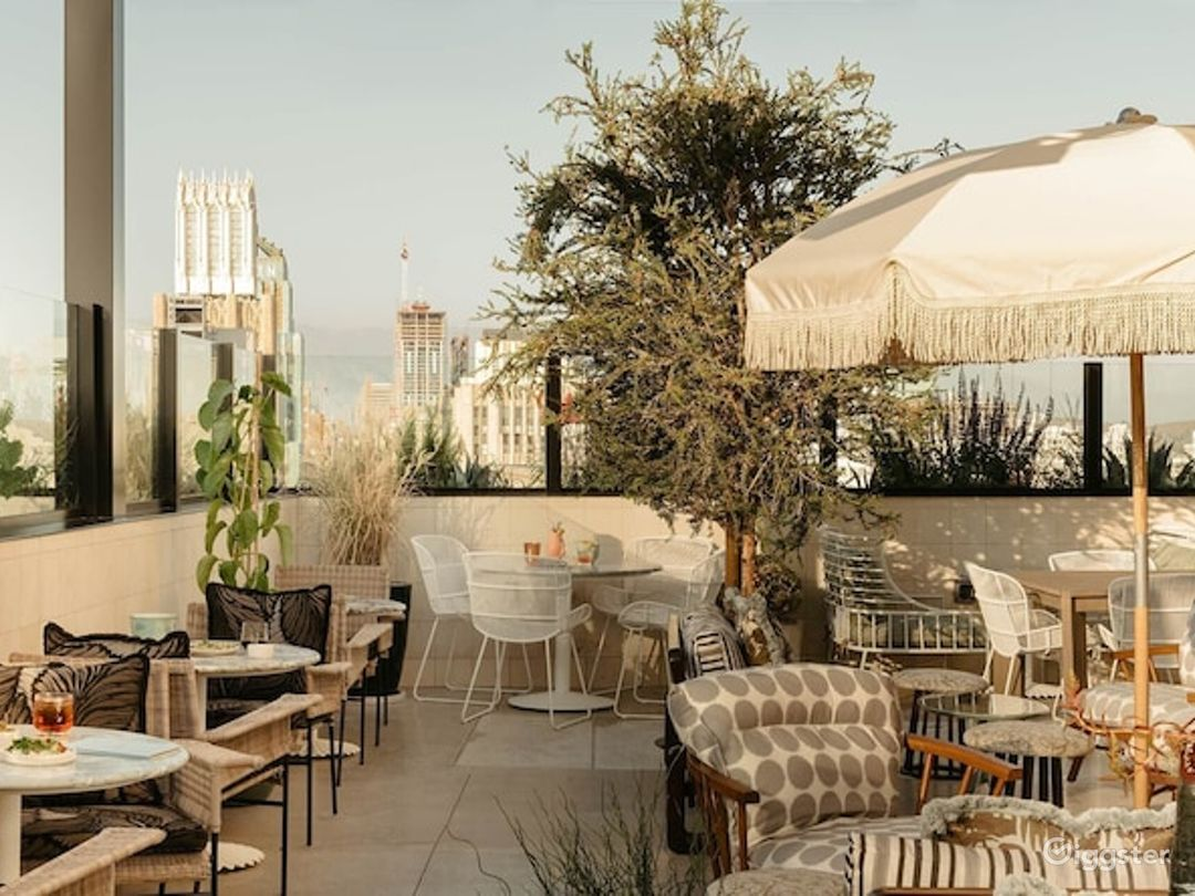 Mediterranean Pool and Rooftop Bar in LA Photo 1