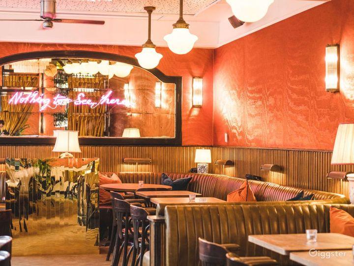 Elevated European Restaurant in London  Photo 2