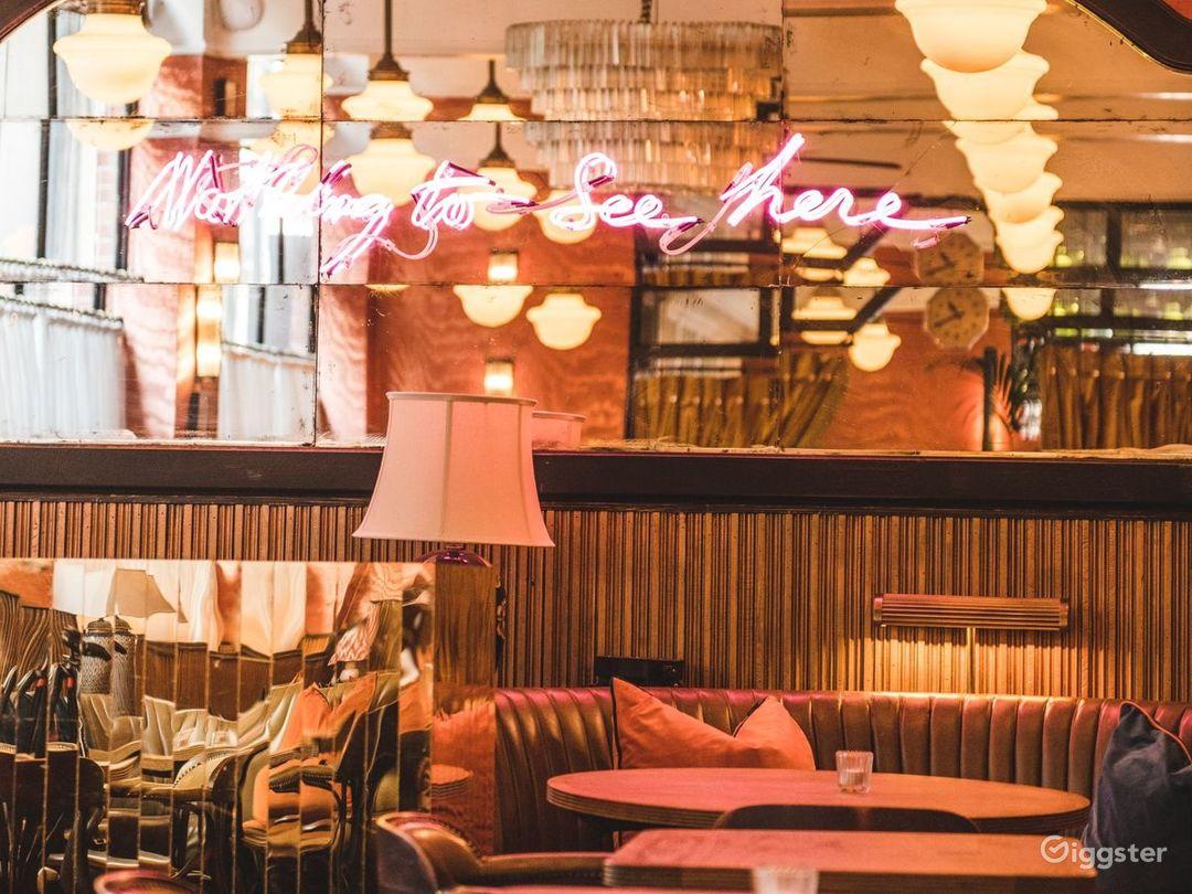 Elevated European Restaurant in London  Photo 1