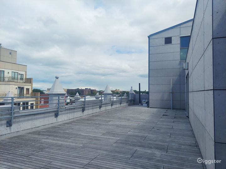 Amazing Rooftop with Skyline View  Photo 2
