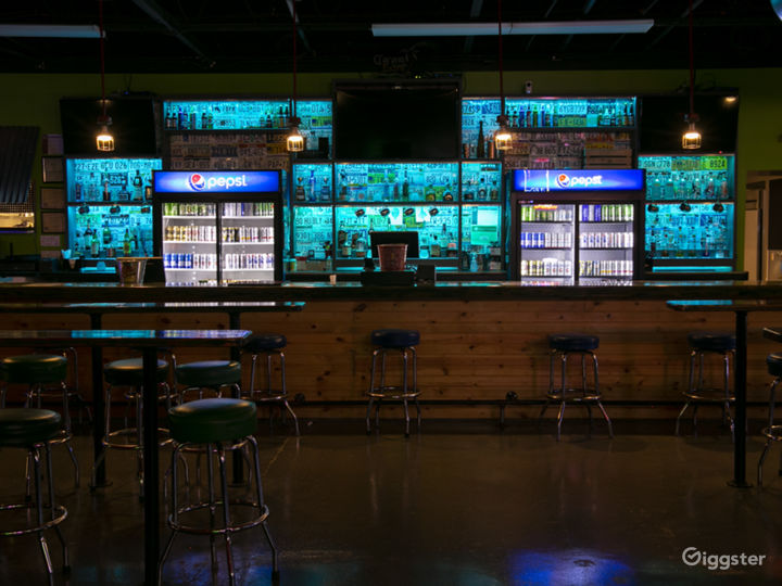 Fully Equipped Entertainment Venue with Bar Space Photo 2
