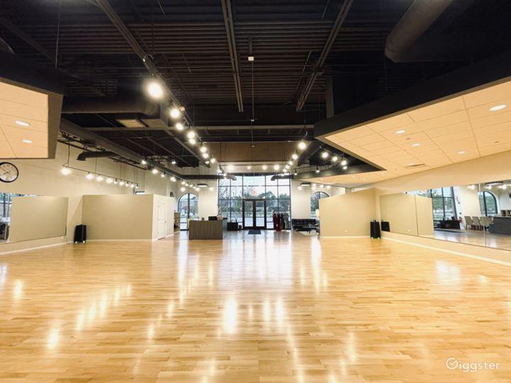 Well-lit Ballroom Dance studio in Naperville Photo 5