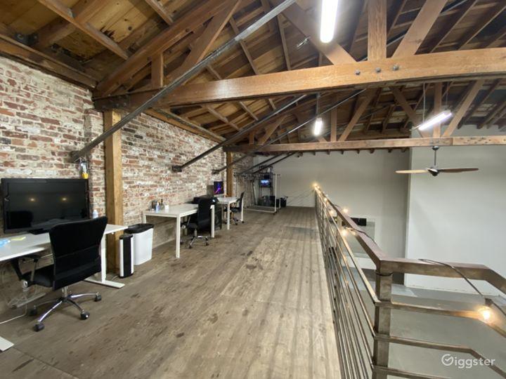 2nd floor lofted office