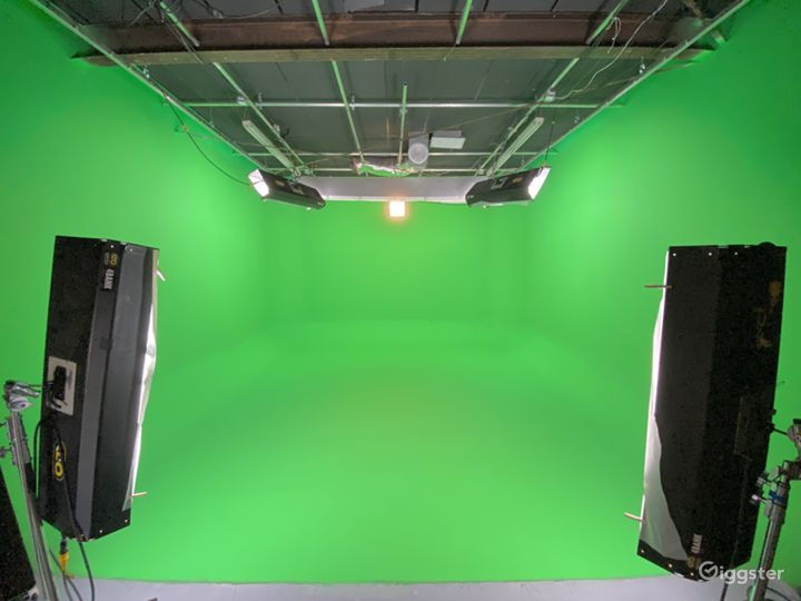 Studio greenscreen