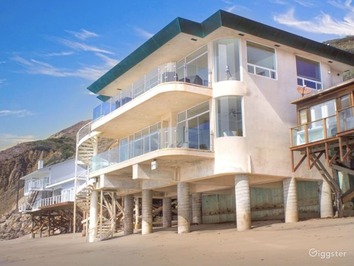 Exclusive Ocean Front Home on Private Beach
