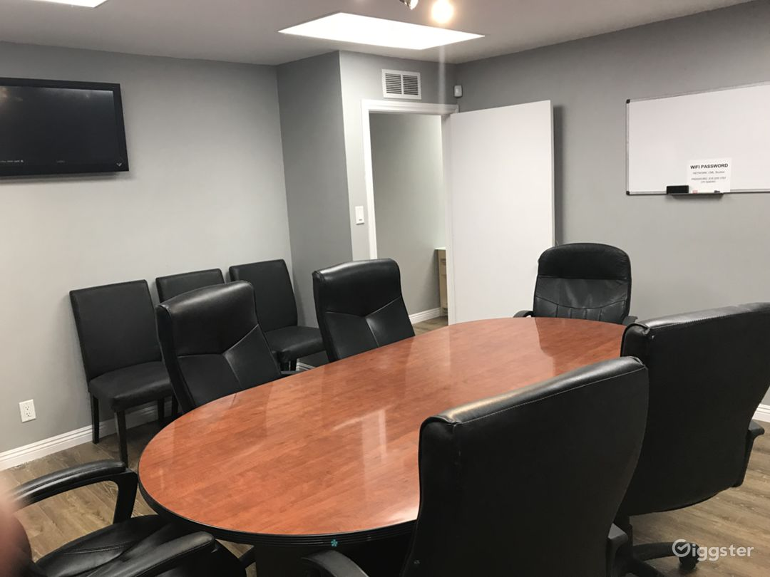 Conference Room in Office Setting Photo 2