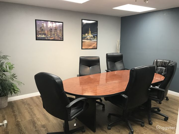 Conference Room in Office Setting
