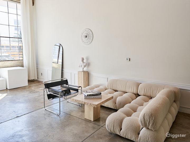 Natural Light Studio Loft with Cyc Wall Photo 3