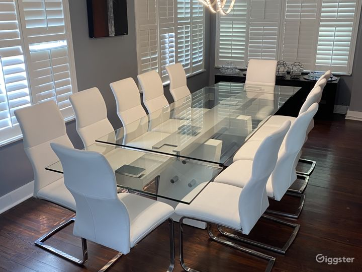 Formal Dining Room for 12
