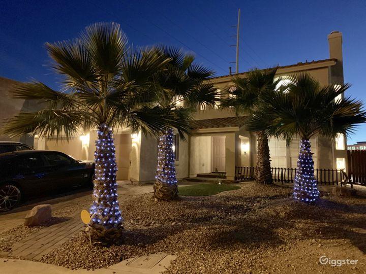 Modern Spanish Colonial Vegas Home Photo 4