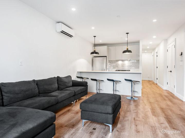 Modern Garden Level Apartment Photo 2