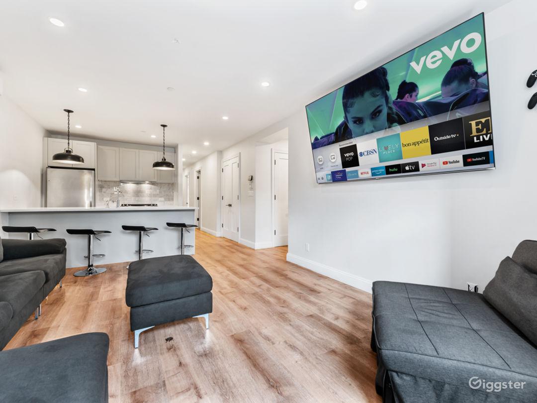Modern Garden Level Apartment Photo 1