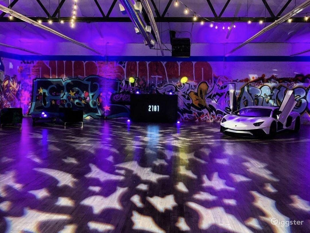 Graffiti Exotic Car warehouse Photo 4