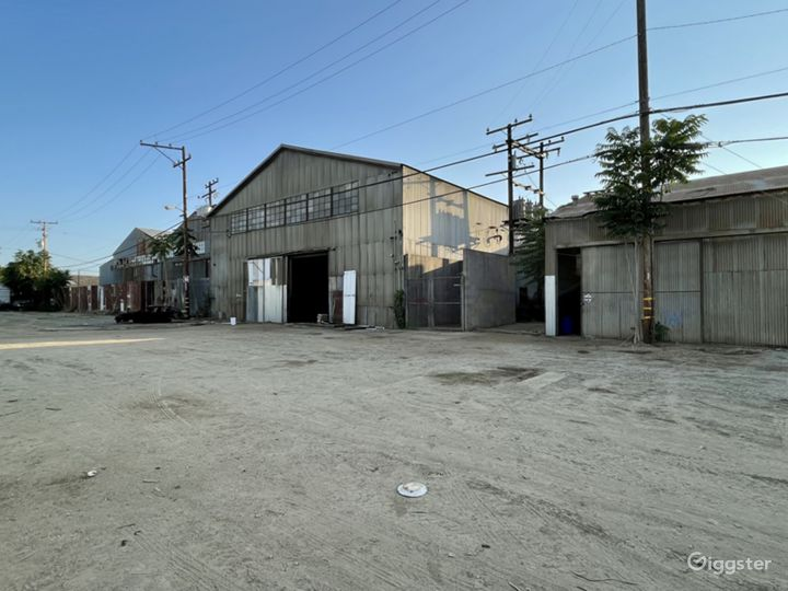 HUGE Industrial Gated Warehouse Lot Photo 5