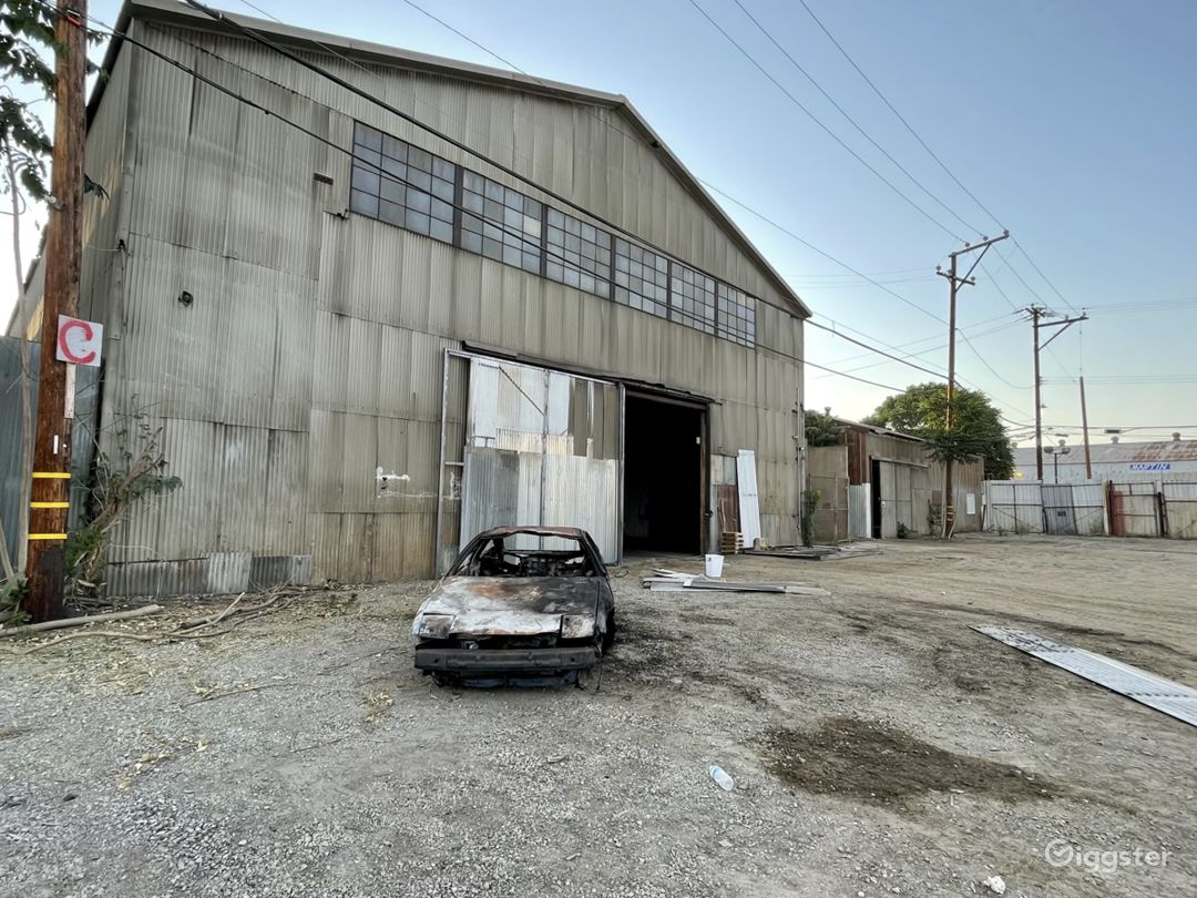 HUGE Industrial Gated Warehouse Lot Photo 1