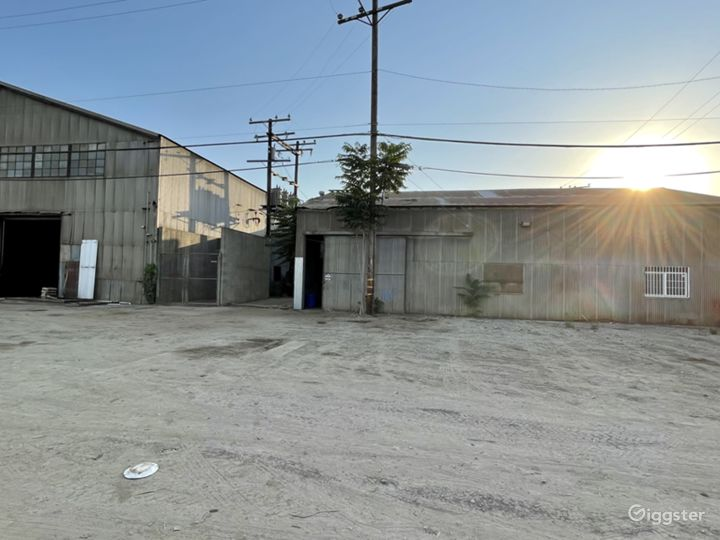 HUGE Industrial Gated Warehouse Lot Photo 2