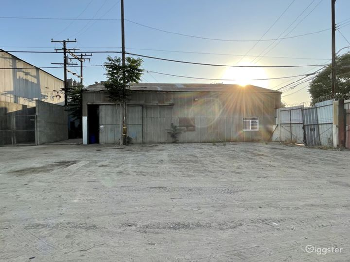 HUGE Industrial Gated Warehouse Lot Photo 4