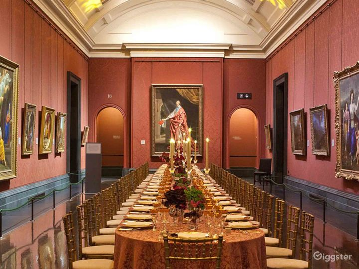Yves Saint Laurent Room in The National Gallery Photo 5
