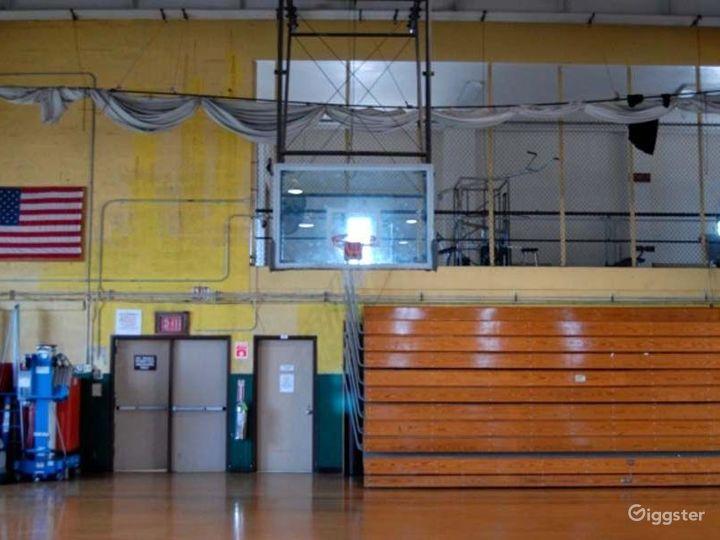 School basketball gym facility: Location 4244 Photo 3