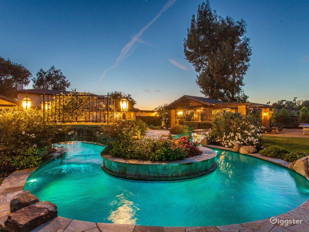 Mediterranean Villa in Thousand Oaks  Photo 5