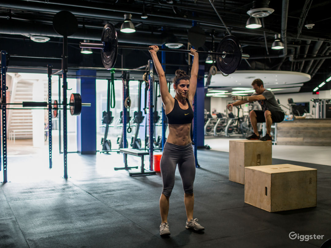 CrossFit Space (open floor)