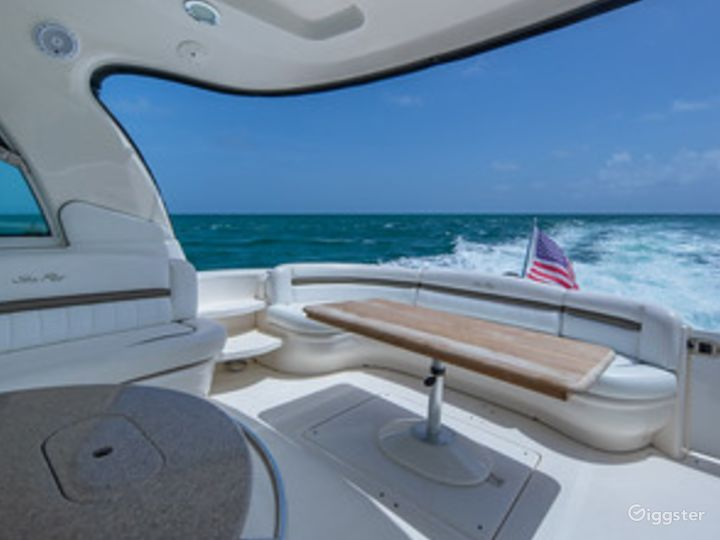 Top of the Line 55' SEA RAY SUNDANCER  Party Yacht Space Events Photo 5