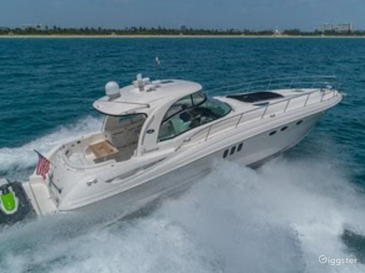 Top of the Line 55' SEA RAY SUNDANCER  Party Yacht Space Events Photo 4