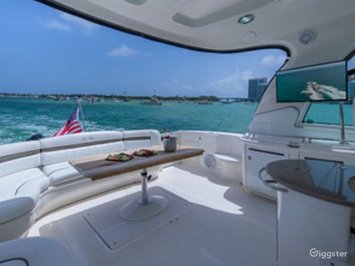 Top of the Line 55' SEA RAY SUNDANCER  Party Yacht Space Events Photo 2
