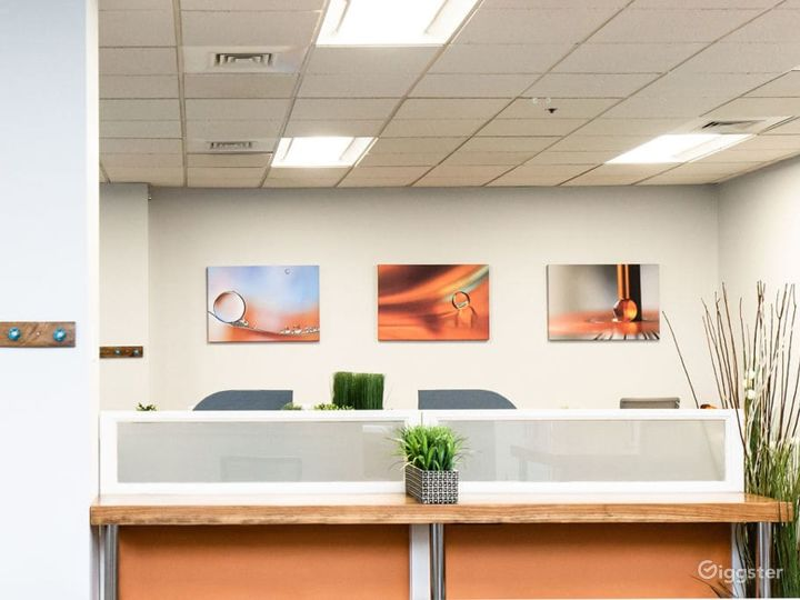 Spacious, equipped meeting room with loads of natural light in Walpole Photo 5