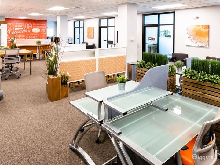 Spacious, equipped meeting room with loads of natural light in Walpole Photo 3